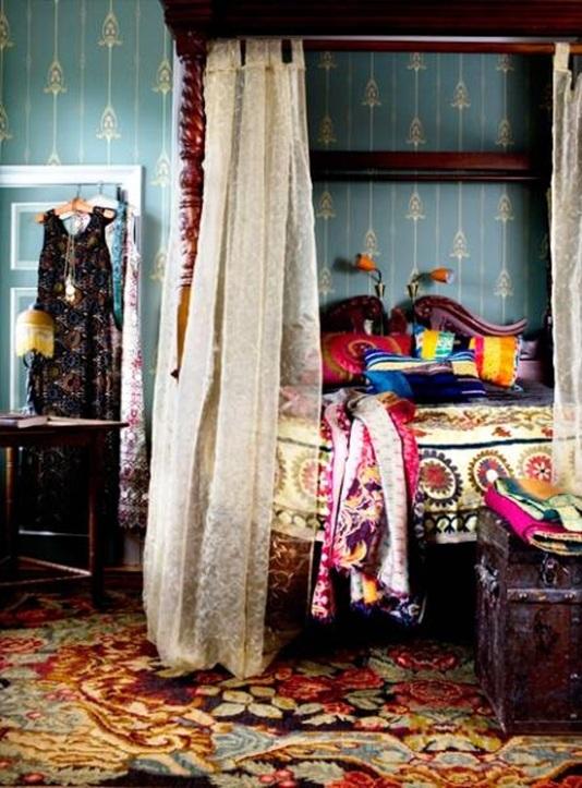Baños Estilo Bohemio:12 Ideas de Dormitorios Estilo Bohemio