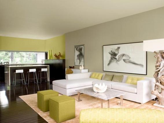 20 ideas para destacar la pared principal de la sala - Pinturas para comedores ...