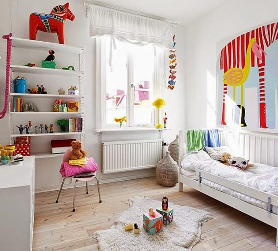 15 dise os de dormitorios infantiles estilo escandinavo - Dormitorios infantiles para dos ...