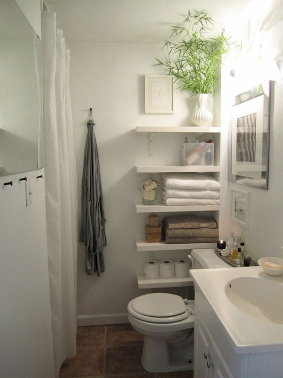 25 ba os peque os y funcionales para el hogar - Banos pequenos modernos y funcional ...