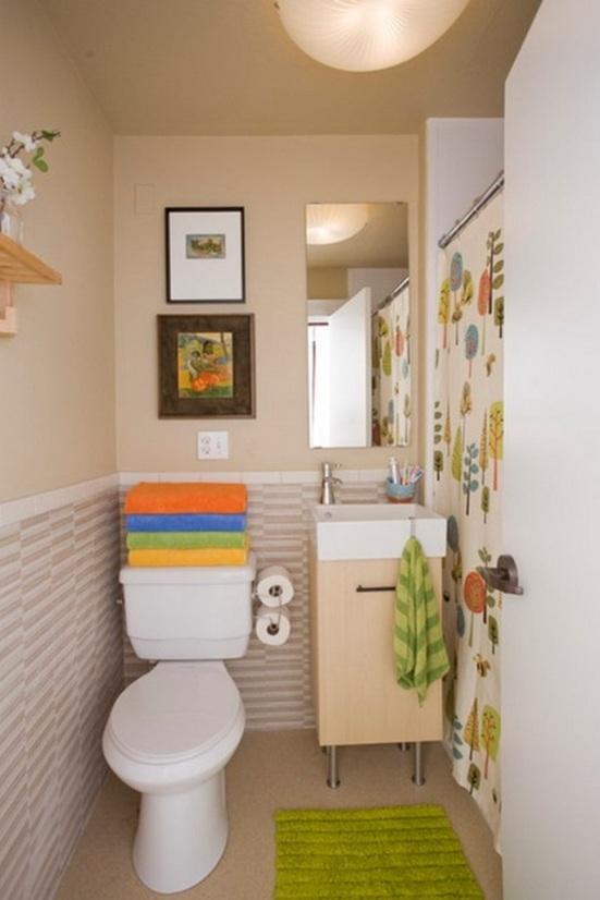 """Ideas Baños Funcionales: sobre """" 25 Baños Pequeños y Funcionales para tu Hogar"""