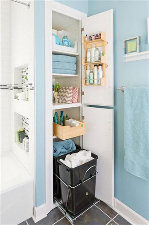 25 ba os peque os y funcionales para el hogar for Banos pequenos aprovechar espacio