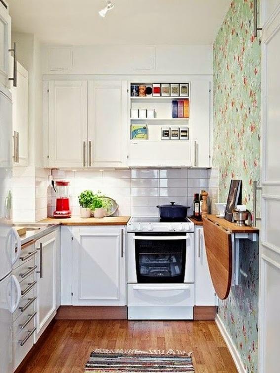 cocina mesa plegable