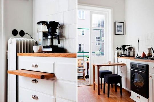 Beautiful Mesa De Cocina Pequeña Ideas - Casas: Ideas, imágenes y ...