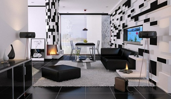 ideas para decorar tu sala en tonos neutros. Black Bedroom Furniture Sets. Home Design Ideas