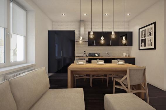 Ideas para crear un comedor en la sala peque a for Sala comedor