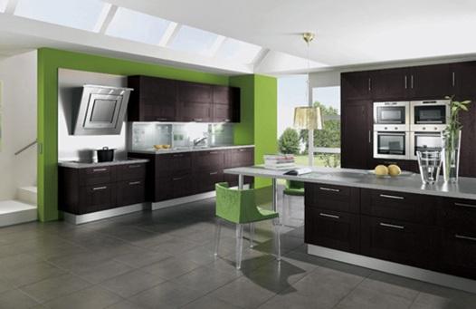 15 dise os de cocinas en caf oscuro On muebles de cocina cafe