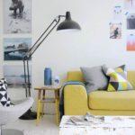 15 Hermosos Diseños de Salas con Lámparas de Pie