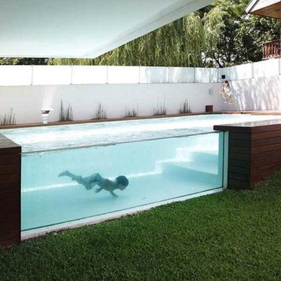 15 lindos dise os de piscinas para el hogar for Piscinas en el patio de la casa