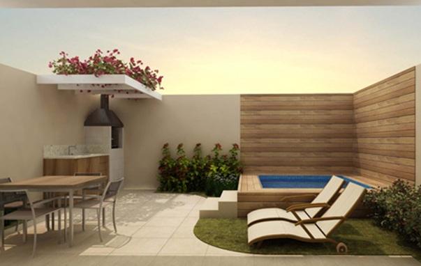 15 lindos dise os de piscinas para el hogar for Patios interiores con piscina