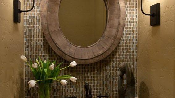 decorar espejo bao