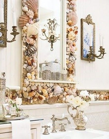 Decorar Espejo Baño | 15 Fotos De Espejos Para El Cuarto De Bano