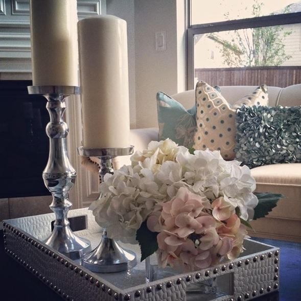 decorar mesa centro sala