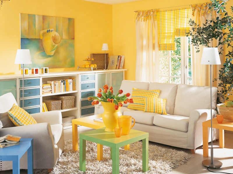 foto sala amarillo