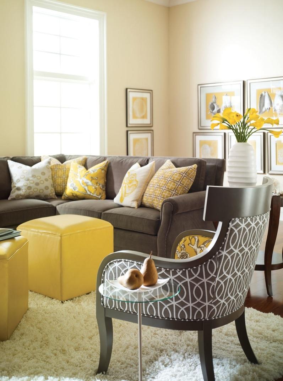 20 Fotos De Salas Color Amarillo # Muebles Color Mostaza