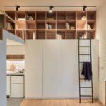 Diseño de Pequeño y Funcional Apartamento de 22 m2