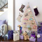10 Diseños de Árboles de Navidad en la Pared