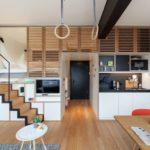 Diseño de Magnífico Apartamento de 25 m2 Muy Pequeño