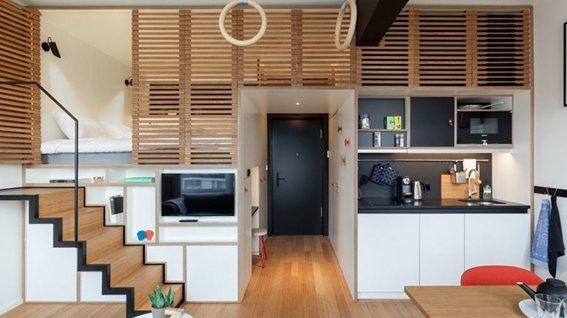 Espacios peque os part 2 for Apartamento muy pequeno