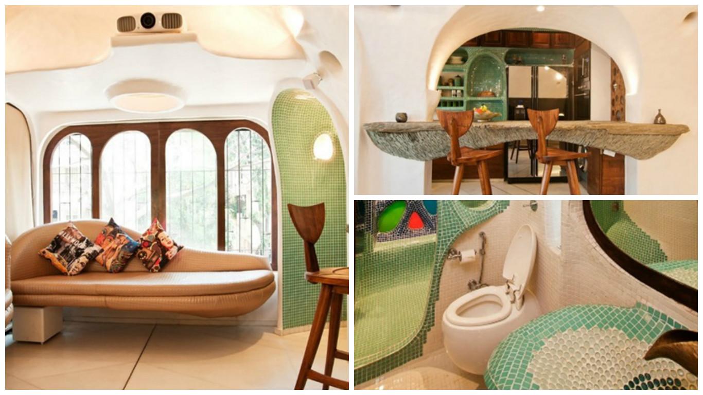 Diseño Interior de Hermosa Casa en la India