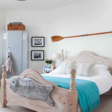 dormitorio fresco y acogedor