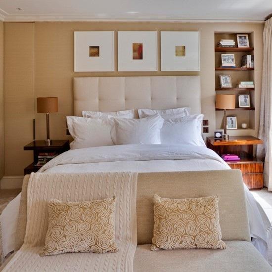Fotos de dormitorios frescos y acogedores - Dormitorio beige ...