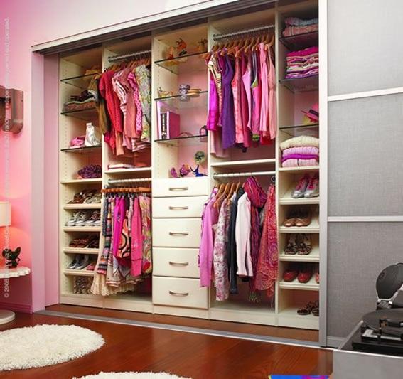 foto para organizar closet