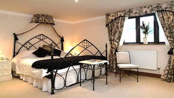 foto de dormitorio estilo gótico