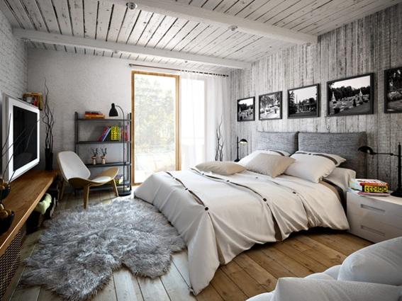 foto de apartamento estilo industrial