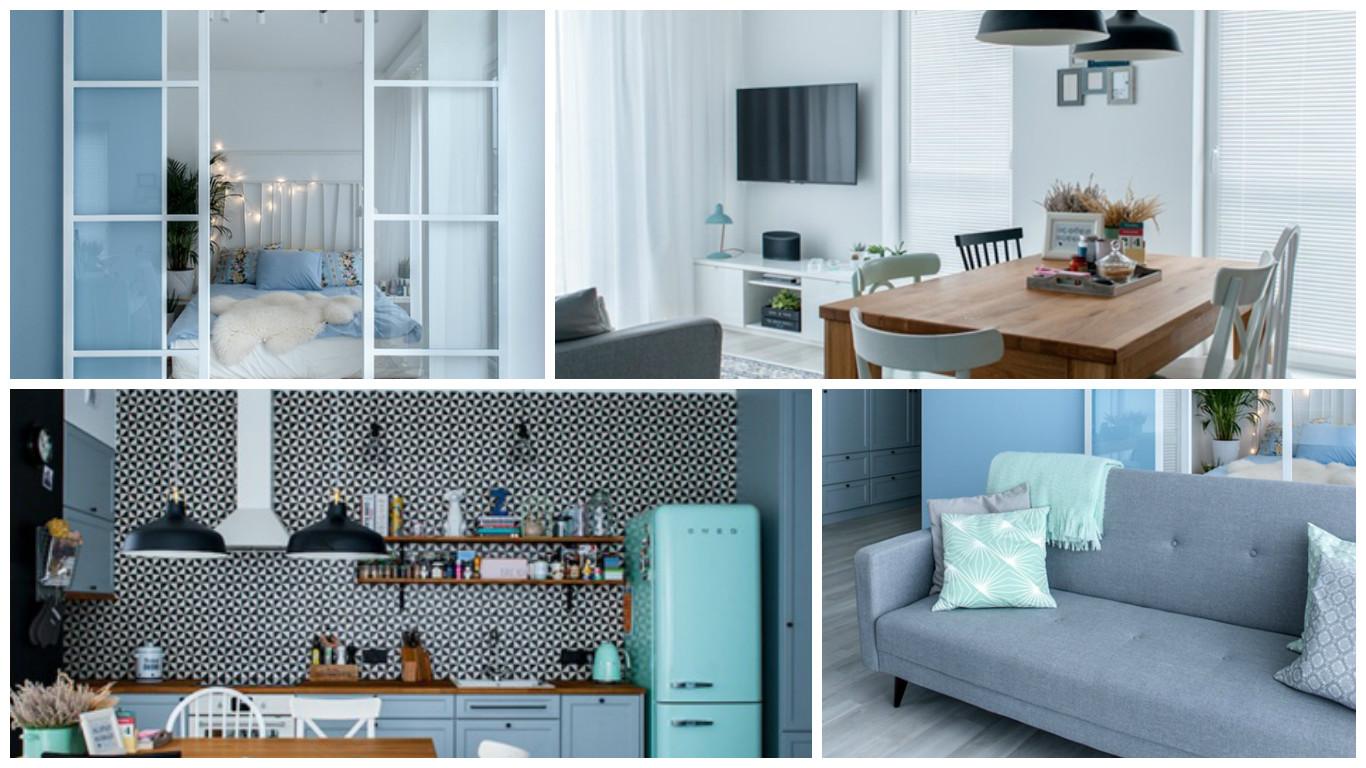 Dise o de apartamento con detalles en colores pasteles for Disenos de apartamentos