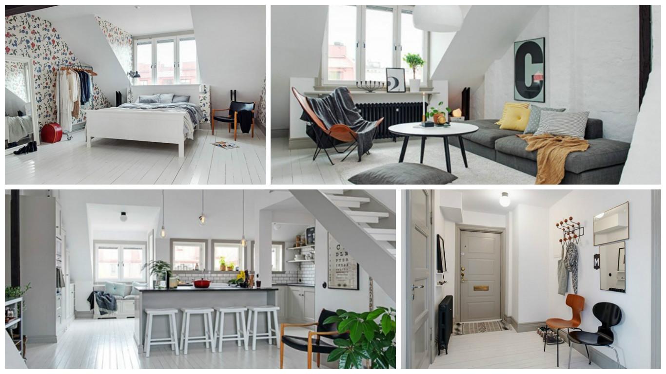 Decoraci n interior de apartamento estilo escandinavo for Decoracion apto
