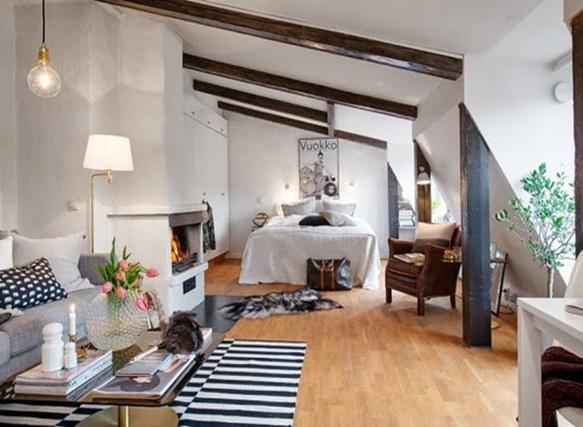 foto de pequeño apartamento