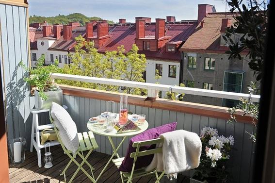 foto interior apartamento escandinavo