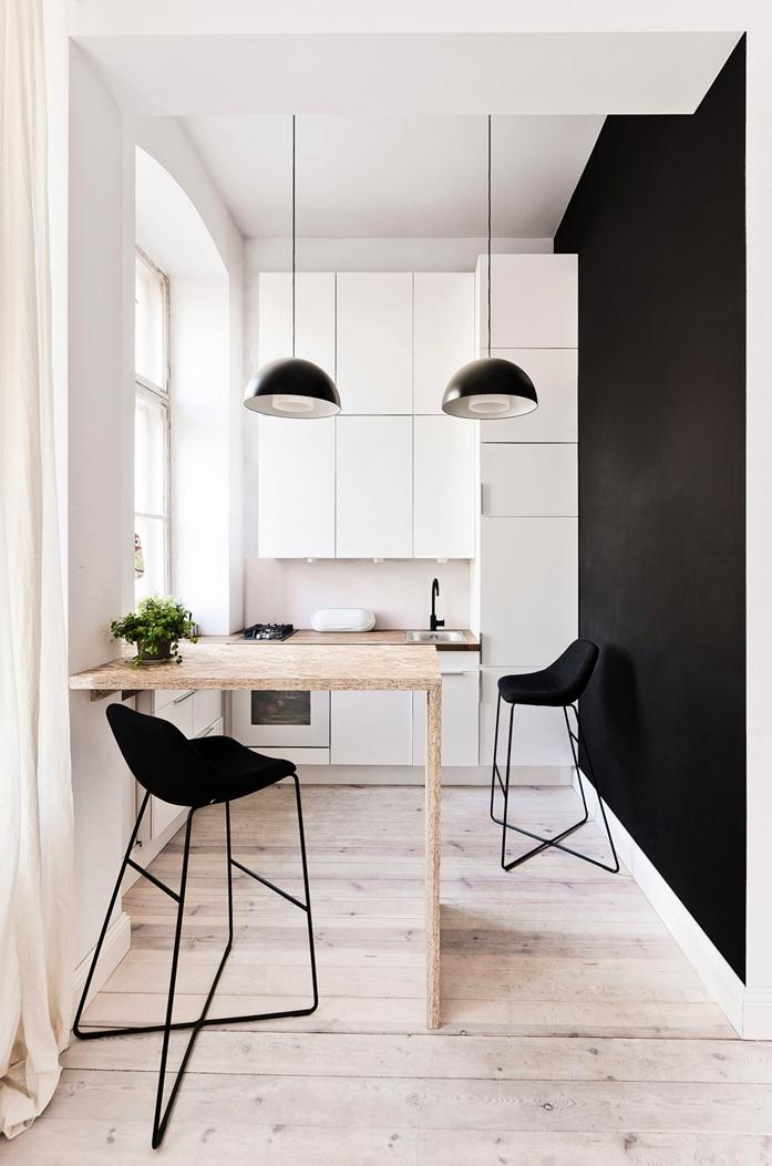Dise o de un apartamento muy peque o en polonia for Apartamentos muy pequenos