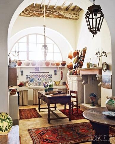 foto de cocina estilo bohemio