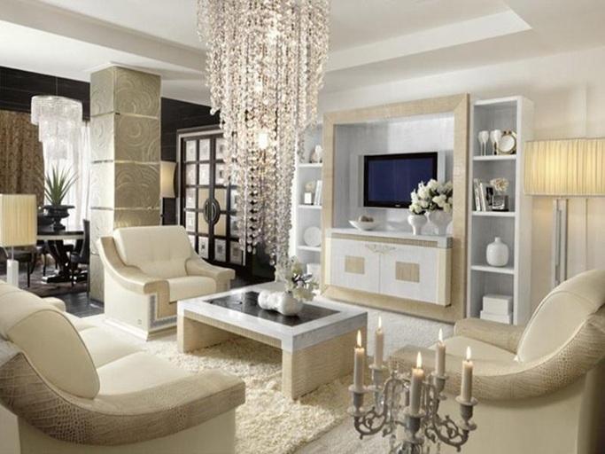 20 salas decoradas con hermosas alfombras for Alfombras para sala pequena