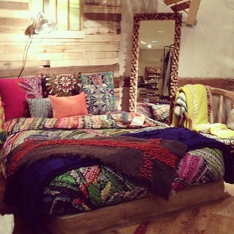foto de dormitorio estilo bohemio