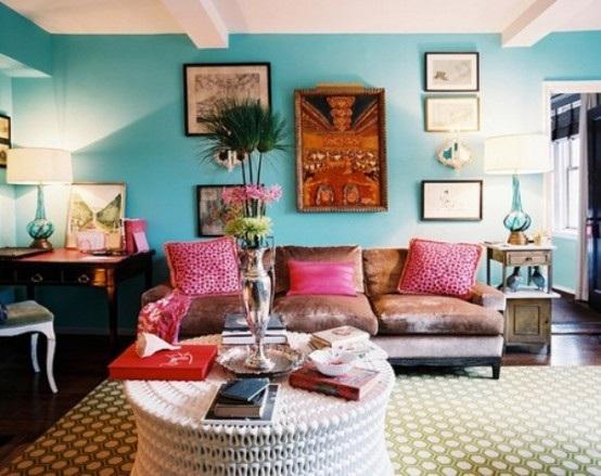 foto de sala estilo bohemio