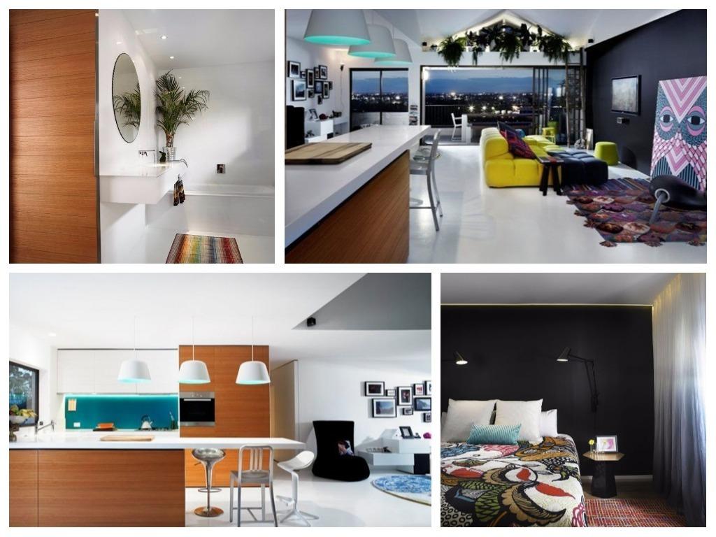 Decoraci n apartamento moderno en australia for Decoracion apartamentos modernos pequenos