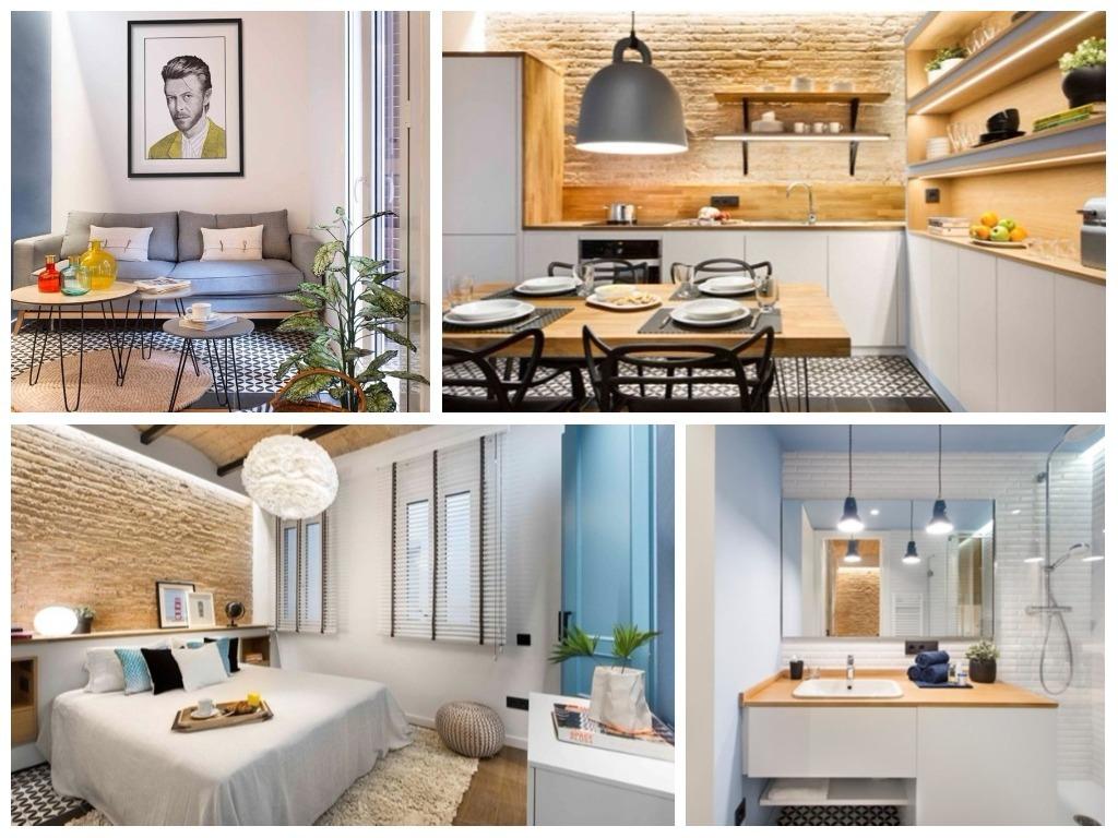 estupendo dise o interior de un apartamento 40 m2 en barcelona