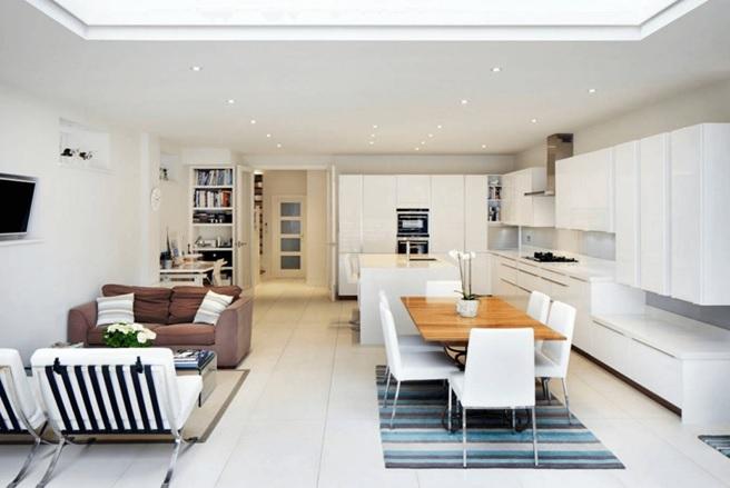 Very Small Window Fan : Cómo dividir tu sala comedor y cocina juntos